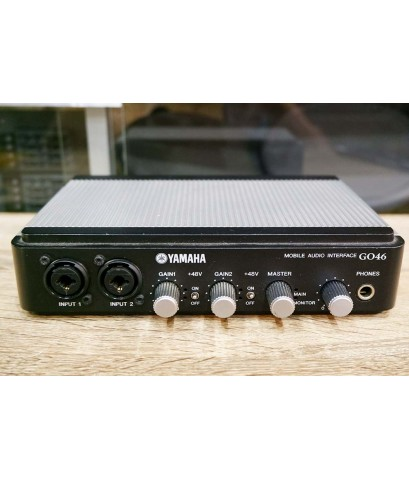 Yamaha GO46 Mobile Firewire Audio Interface 4-in 6-out 24-bit 192kHz