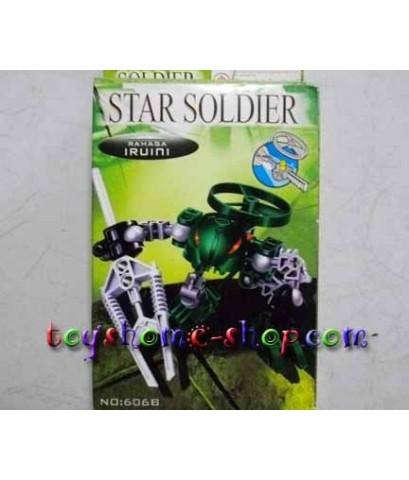 lego ราคาถูก หุ่นไบโอนิเคิล Star soldier ชุด RAHAKA แบบที่ 606B IRUINI
