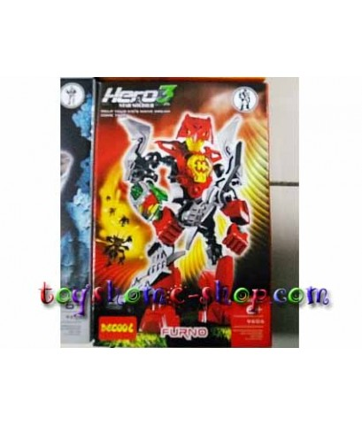 lego ราคาถูก หุ่นไบโอนิเคิล Star soldier ชุด HERO factory 3  FURNO 9606