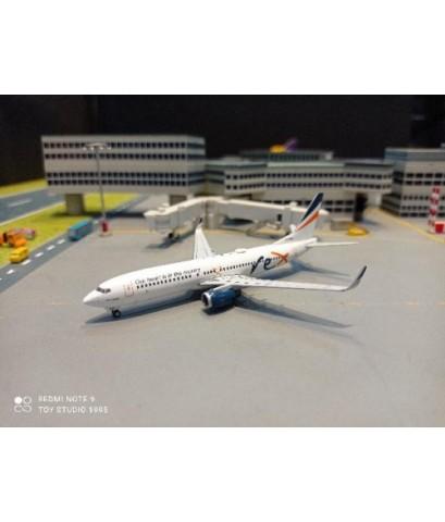 GJ1985 1:400 Regional Express (Rex Airlines) 737-800 VH-RQC [Width 9 Length 9.5 Height 3 cms.]