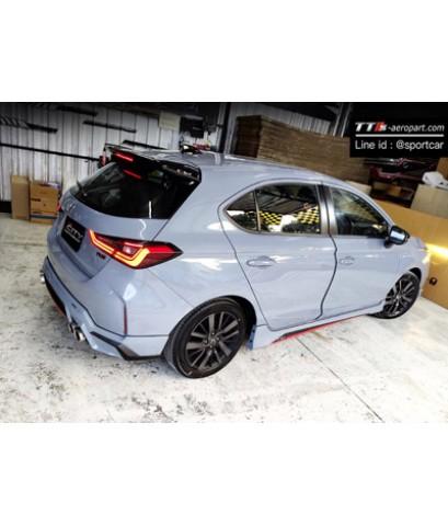 ชุดแต่ง City hatchback 5ประตู RS Drl, City 2020 Turbo สเกิร์ตรอบคัน ฮอนด้า ซิตี้ แต่งสวย