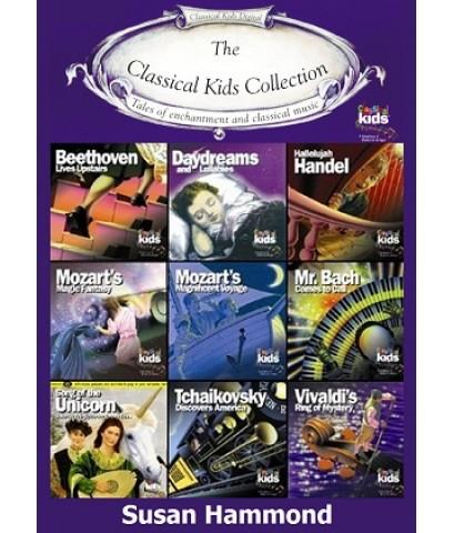 นิทานอังกฤษ ประกอบเสียงดนตรีคลาสสิค The Classical Kids: Susan Hammond/CD-Mp3 (1 แผ่น) รวม 157 ตอน
