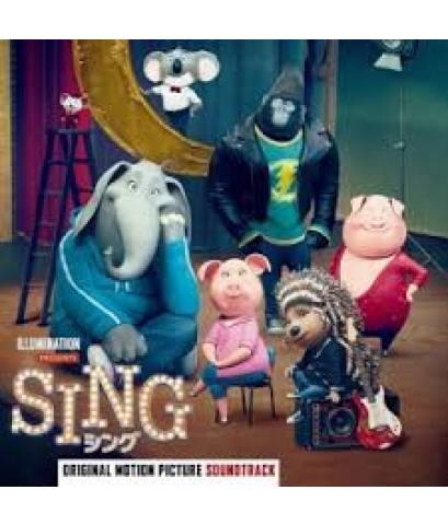 Sing (Original Motion Picture Soundtrack Deluxe) CD MP3 1 แผ่น รวม 25 เพลง
