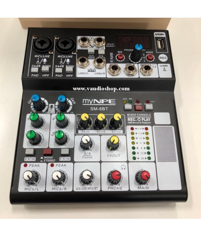 Mixer My NPE SM-6BT (USB, Bluetooth)