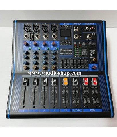 Power Mixer PROEUROTECH PMX-XP4200DSP (Effect,USB,Bluetooth)