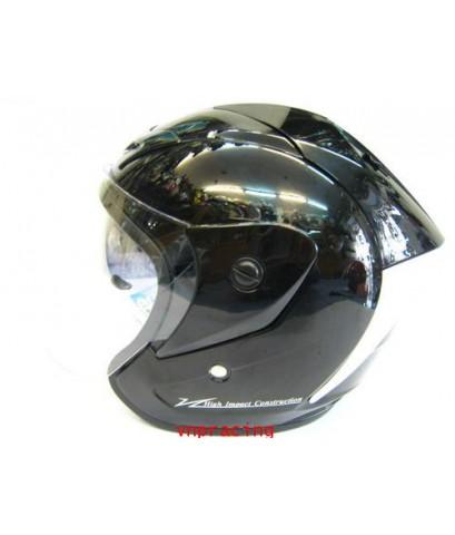 หมวกกันน็อค INDEX TITIN I-SHIELD สีดำ หน้ากากสองชั้น คลิ๊กด้านใน  (ไม่มีสินค้าเข้ามาแล้วครับ)
