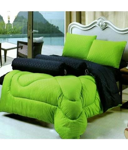 ผ้าปูที่นอน พร้อมผ้านวม หนานุ่ม ขนาด 6ฟุต 6ชิ้น ราคา 830/ชุด เกรดA เกรดพรีเมี่ยม