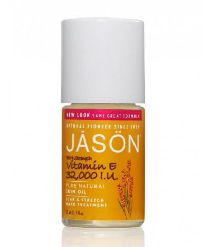พร้อมส่ง  Jason : Extra Strength Vitamin E Skin Oil 32,000 I.U.  30 ml.
