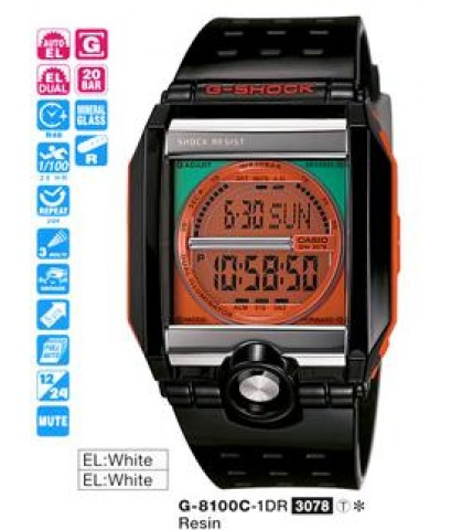 G-SHOCK G-8100C-1DR