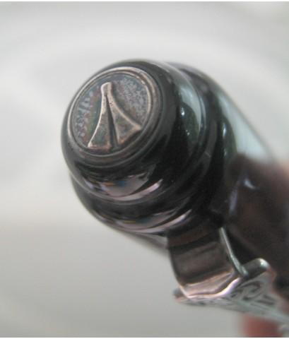 ปากกาลูกลื่น MARLEN masterpieces collection ชุดเหน็บ silver stering 925 ตัวด้ามอครีลิคลายหินมุข ระบบ