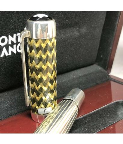 ปากกาหมึกซึม MONTBLANC JP Morgan, Patron of The Art 2004, Limited Edition 1266/4810-18k F Nib ตัวด้า