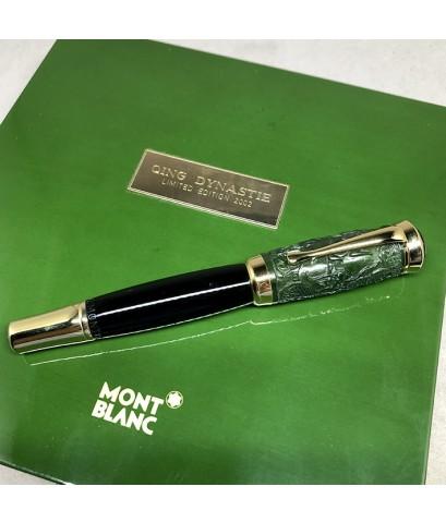 ปากกาหมึกซึม MONTBLANC Qing Dynasty Limited Edition ผลิตเพียง 1232 / 2000 ตัวเรือนส่วนล่างอครีลิคดำส