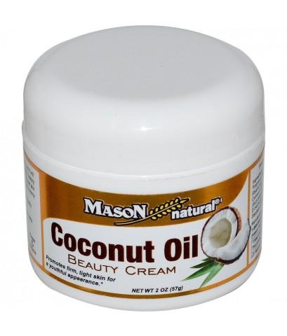 (Pre Order)Mason Natural Coconut Oil Beauty Cream 57 g.ครีมด้วยส่วนผสมจากน้ำมันมะพร้าว ลดริ้วรอย ผิว