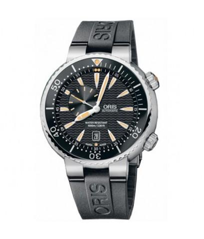 ORIS นาฬิกาข้อมือผู้ชาย สายเรซิ่น รุ่น 74376098454RS