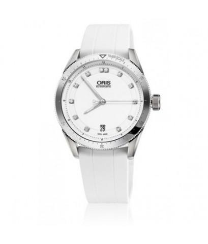 Oris นาฬิกาข้อมือผู้ชาย สายเรซิ่น รุ่น 733 7671 4191 RS