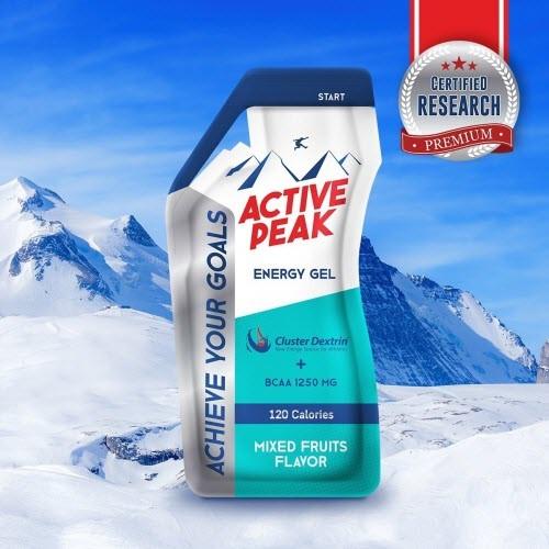 Active Peak Energy gelรสมิกฟรุ๊ต