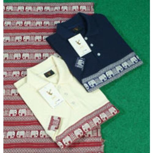 เสื้อปกโปโลผ้าไทย สินค้าOtop 5 ดาว