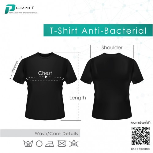 T-SHIRT ANTI-BACTERIAL PERMA