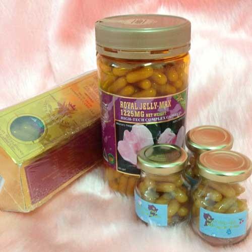 Wealthy Health Royal Jelly MAX 1,225mg.6% 10H2DA นมผึ้งเวลล์ธี่เฮลธ์ รอยัลเจลลี่ แม็กซ์ 365 แค็ปซูล ของแท้ ราคาถูก ปลีก/ส่ง โทร 081-859-8980 ต้อม