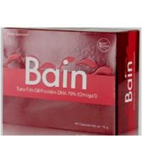 Bain เป็นผลิตภัณฑ์ที่สกัดจากปลาทูน่าซึ่งให้ปริมาณ DHA เข้มข้นถึง 70=490-