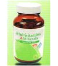VISTRA Multivitamins  Minerals Plus Co Q10 วิตามินรวม 28 ชนิด45เม็ด=289-