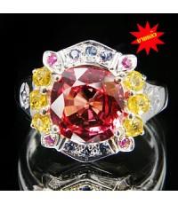 (ขายแล้ว) JW3-0053 เงินแท้ แหวน สวยงามมาก