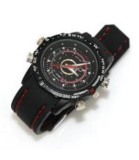 กล้องนาฬิกาข้อมือกันน้ำ (สไตล์ นักสืบ) 4 GB 30 FPS Resolution 640x480 Pixels