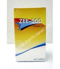 วิตามินซี Zee 500 - 100 เม็ด (Zee 500) Reg.No. 1A 183/38