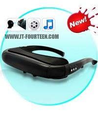 แว่นตามีเดีย i-Cinema Multimedia Video Glasses (50 นิ้ว Virtual Screen,4GB Memory) รองรับความบันเทิง