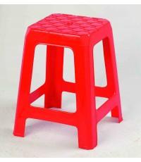 เก้าอี้เหลี่ยม ST-9622 สีแดง