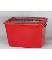 กล่องมีล้อ 200-2 135 Lt สีแดง B