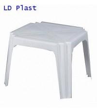 โต๊ะเหลี่ยมกลาง T5 สีขาว