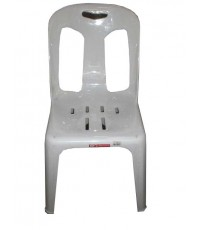เก้าอี้พิงหลัง CH-50 สีขาว