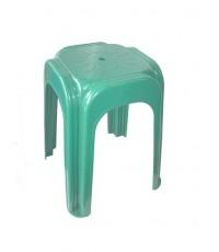 เก้าอี้เหลี่ยมสตูล 999 สีเขียว B