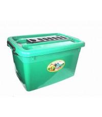 กล่องมีล้อ 200-1 200 Lt สีเขียว B