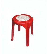 เก้าอี้กลมสาน FT-256 สีแดง A