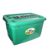 กล่องมีล้อ 200-5 25 Lt สีเขียว B