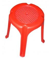 เก้าอี้กลม ST-9323 สีแดง