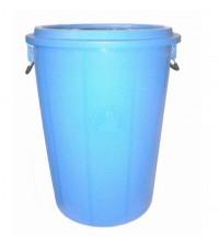 ถังน้ำ+ฝา 40 gl สีน้ำเงิน