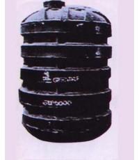 ถังบำบัดน้ำเสีย STA 6000 Lt สีดำ
