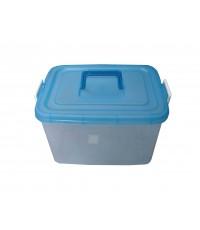 กล่องหูล็อค 2553 ฝาสีฟ้าใส