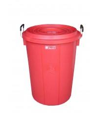 ถังน้ำ+ฝา 22 gl สีแดง