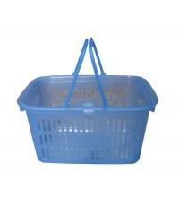 ตะกร้าปิคนิค No.2201 สีฟ้าใส