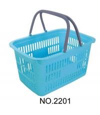 ตะกร้าปิคนิค 2201 สีฟ้าใส