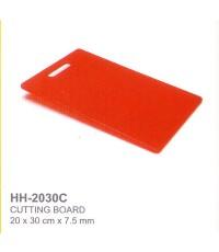 เขียงพลาสติก HH-2030C สีแดง