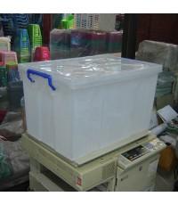 กล่องหูล็อค 109 สีขาวใส A