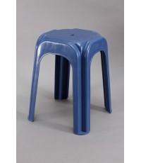 เก้าอี้เหลี่ยมสตูล 999 สีน้ำเงิน B