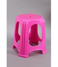 เก้าอี้เหลี่ยมสตูล 987 สีชมพู A