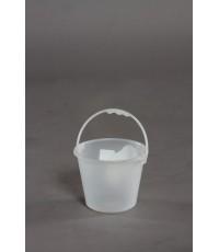 ถังน้ำ 0.5 gl สีขาวใส A v