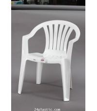 เก้าอี้ท้าวแขน AC-9301 สีขาว
